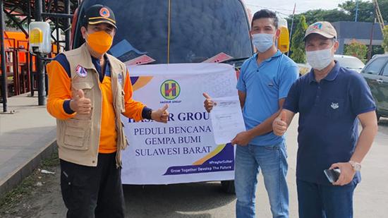 PT Hasnur Resources Terminal Peduli Bencana Gempa Bumi